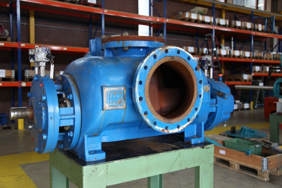 Mechanical seal upgrade Houttuin schroefpomp