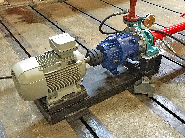 Guinard centrifugaalpomp voorzien van magneetkoppeling